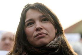 Nemtsov's daughter Zhanna, photo: ČTK / Ondřej Deml