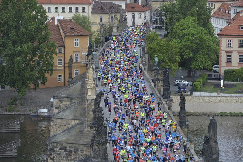El Maratón de Praga, foto: ČTK /Michaela Říhová
