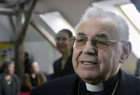 Cardinal Miloslav Vlk, photo: CTK