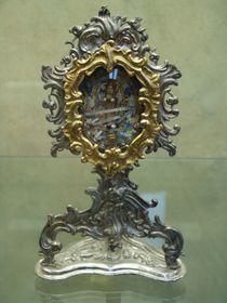 Relikviář sostatky Svaté Anežky, foto: Barbora Kmentová