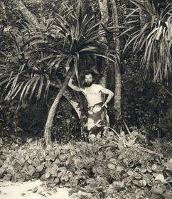 Милан Штефаник на Таити, фото: открытый источник