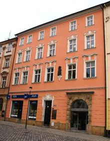 El Centro Informativo de la Universidad Palacký de Olomouc (a la derecha), foto: Petra Zajíčková, CC BY-SA 4.0