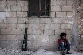 Boje vSýrii, foto: ČTK