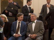 Tomáš Hudeček, Bohuslav Svoboda, photo: CTK