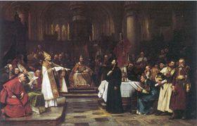 Ян Гус, картина Вацлава Брожика