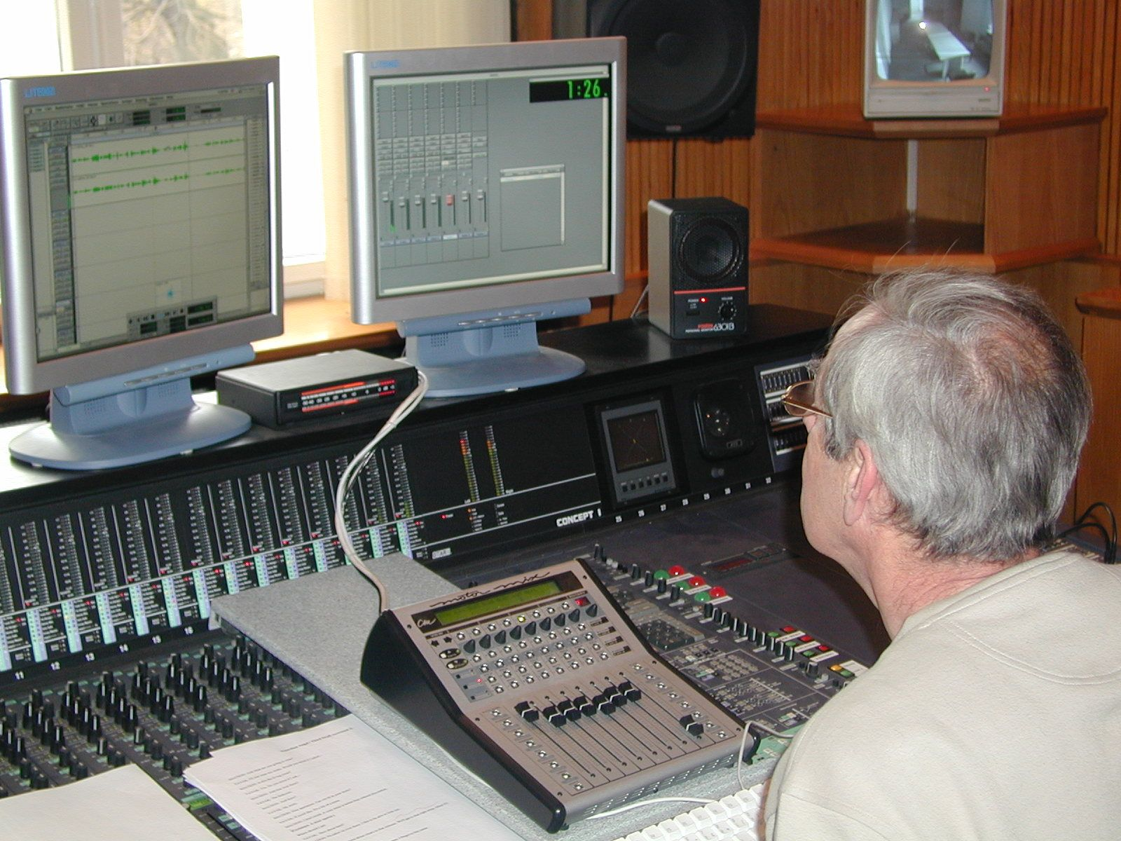 A journey into sound - a behind-the-scenes look into how radio sound