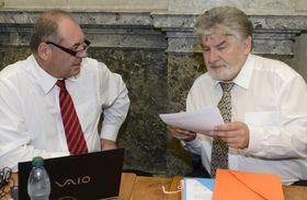 Martin Holcát (à droite), photo: CTK