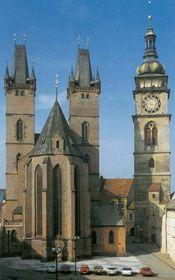 Kostel sv. Ducha aBílá věž