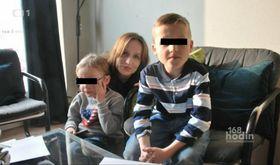 Эва Михалкова и ее сына (Фото: ЧТ24)