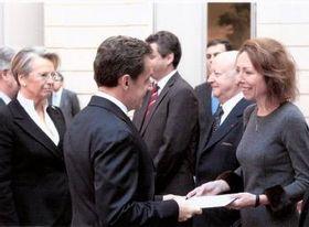 Marie Chatardová et Nicolas Sarkozy