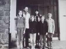 Tomáš Bísek's family before emigration to Scotland, photo: archive of Tomáš Bísek