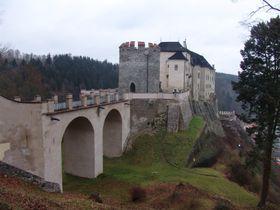 El castillo de Český Šternberk, foto: Archivo de Radio Praga