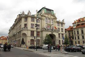 Gebäude des Prager Rathauses (Foto: Kristýna Maková, Archiv des Tschechischen Rundfunks - Radio Prag)