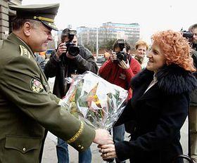 Pavel Stefka y Vlasta Parkanová (Foto: CTK)