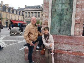 Stella Marisová Sirben et son époux William, photo: Magdalena Hrozínková