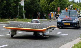 Solar car Nuna 2, photo: CTK