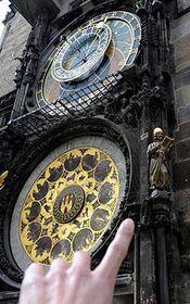El reloj de Praga, foto: CTK