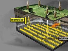 Schiefergasförderung (Foto: ČT 24)