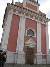 Barockkirche der Heiligen Ludmila (Foto: Martina Schneibergová)