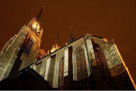 L'église Saint-Pierre et Saint-Paul à Brno