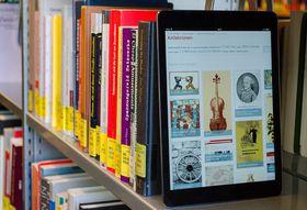 Digitale Bibliothek in Dresden (Foto: SLUB Presse2015, CC BY-SA 4.0)