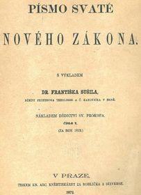Übersetzung des Neuen Testaments von František Sušil