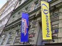 Les stations Evropa 2 et Frekvence 1 qui appartenaient au groupe français Lagardère, photo: ČTK