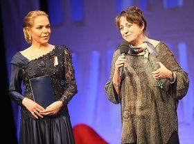 Dagmar Havlová et Viola Fischerová, photo: www.magnesia-litera.cz