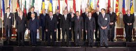 Central European heads of state meet in Salzburg, photo: CTK