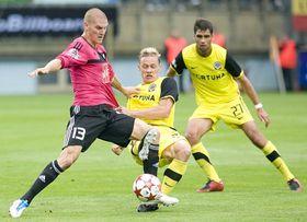 Sparta Prague kicked off their league campaign with a 4:2 away win over České Budějovice, photo: CTK