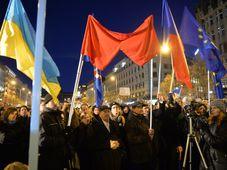 Встреча на Вацлавской площади, Фото: ЧТК