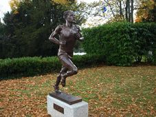 Statue of Emil Zátopek in Lausanne, photo: Jan Kaliba, Czech Radio