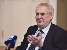 Miloš Zeman, photo: Filip Jandourek / Czech Radio