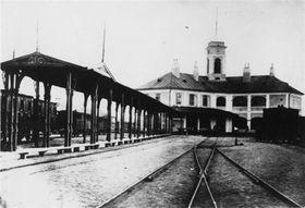 Bahnhof in Bratislava