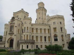 Замок Глубока-над-Влтавой, фото: Мартина Шнайбергова