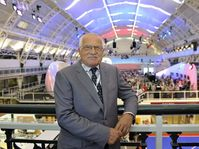 Václav Klaus in the Czech Olympic House, photo: CTK
