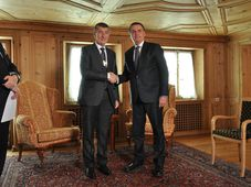 Andrej Babiš and Jair Bolsonaro, photo: ČTK/Stříhavka Jakub