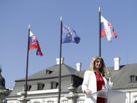 Zuzana Čaputová, photo: ČTK/AP/Petr David Josek