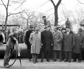 Zahájení stavby 6. (7.) ledna 1966, фото: Архив DPP