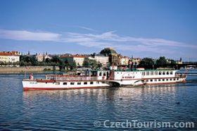 'Vltava' steamer, photo: CzechTourism