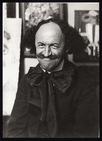 Robert Guttmann in his studio, photograph, ca. 1930, photo: © Jewish Museum in Prague