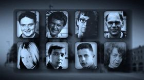 Восемь российских диссидентов - участников демонстрации на Красной площади (Фото: ЧТ24)