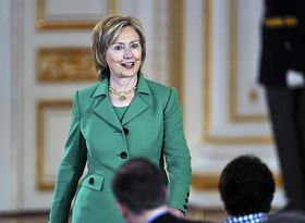 Hillary Clinton, photo: CTK
