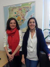Eulogia Cotelo y Silvia Codes de la Cámara de Comercio Hispano-Checa, foto: Dominika Bernáthová