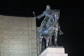 Третья в мире по величине бронзовая конная статуя Яна Жижки, фото: Кристина Макова