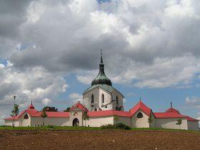 La iglesia Nepomuceno en Zelená Hora, foto: Miaow Miaow, CC BY 2.0