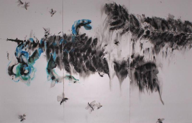 Marta Morice, 'Pod hladinou lesa', photo: Facebook de la Galerie Makráč