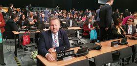 Richard Brabec nahm an der Klimakonferenz in Katowice teil (Foto: Archiv des tschechischen Außenministeriums)