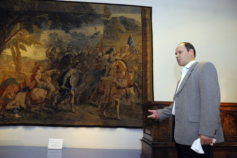 Tapisérie Kimónova bitva, foto: Archiv Moravské galerie vBrně