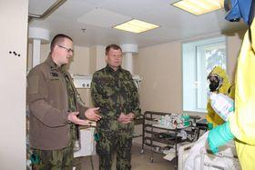 Josef Bečvář (Mitte). Foto: Jana Deckerová, Archiv des tschechischen Verteidigungsministeriums
